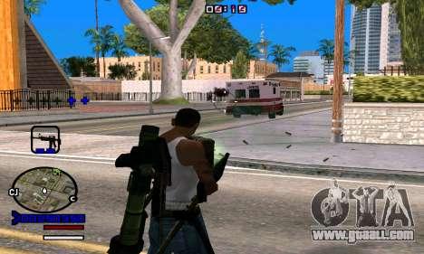 C-HUD Normal for GTA San Andreas forth screenshot