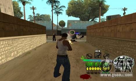 C-HUD Groove Street for GTA San Andreas third screenshot