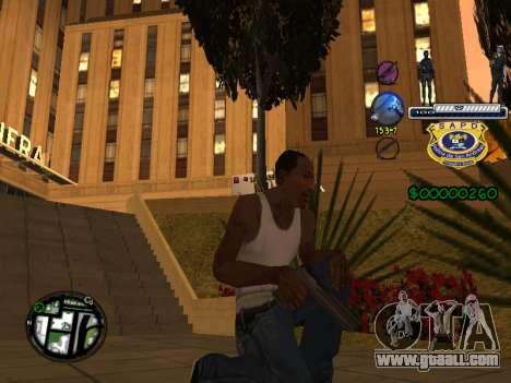 C-HUD Police S.A.P.D for GTA San Andreas third screenshot