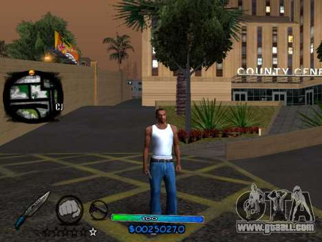 C-HUD COOL for GTA San Andreas third screenshot