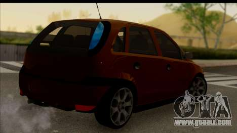 Opel Corsa C Sport for GTA San Andreas left view
