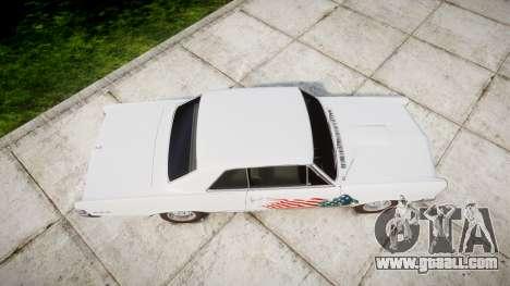 Pontiac GTO 1965 united for GTA 4 right view