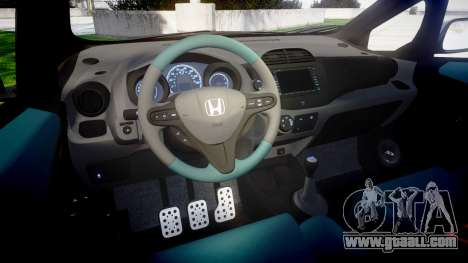 Honda Fit 2006 Sharpie for GTA 4 inner view