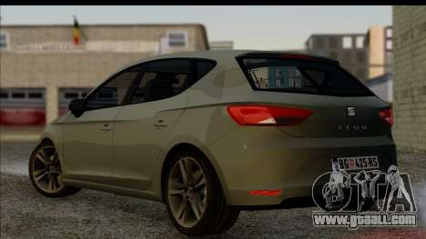 Seat Leon Fr 2013 for GTA San Andreas left view