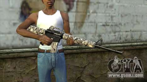 New Assault Rifle for GTA San Andreas third screenshot