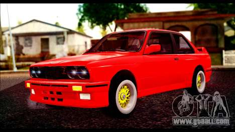 BMW M3 E30 Stock for GTA San Andreas
