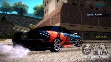 Vinyls for Elegy for GTA San Andreas sixth screenshot