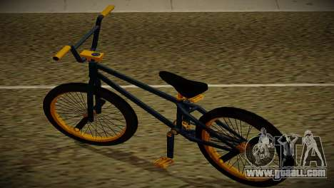 BMX Life edition for GTA San Andreas back left view