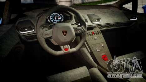 Lamborghini Huracan LP610-4 2015 Sharpie for GTA 4 inner view