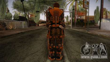 Freedom Exoskeleton for GTA San Andreas second screenshot