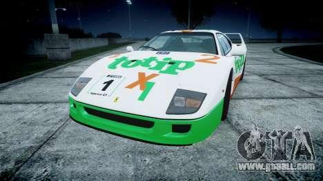 Ferrari F40 1987 [EPM] Jolly Club for GTA 4