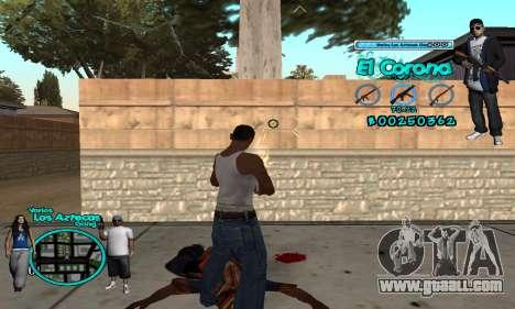 C-HUD Aztec El Corona for GTA San Andreas third screenshot