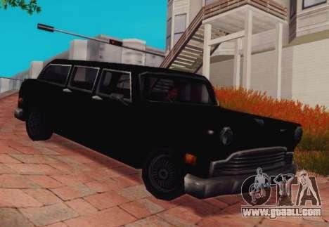 Cabbie Wagon for GTA San Andreas