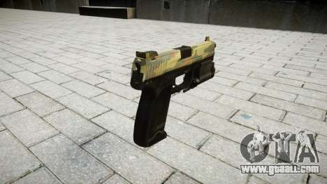Gun HK USP 45 flora for GTA 4 second screenshot
