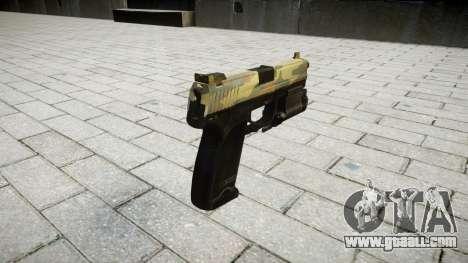 Gun HK USP 45 flora for GTA 4 second screenshot