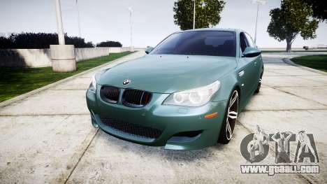 BMW M5 E60 v2.0 Stock rims for GTA 4