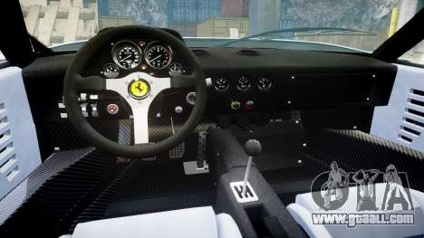 Ferrari F40 1987 [EPM] Jolly Club for GTA 4 inner view