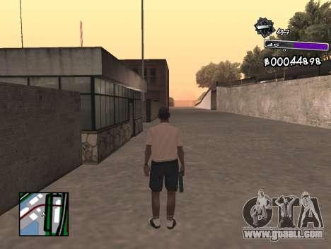 C-HUD Minimal for GTA San Andreas