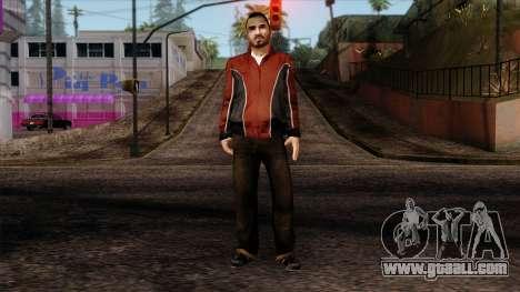 GTA 4 Skin 14 for GTA San Andreas