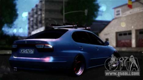 Seat Toledo Stance 2002 for GTA San Andreas left view
