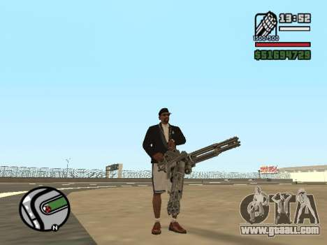Dual ownership of all weapons for GTA San Andreas forth screenshot
