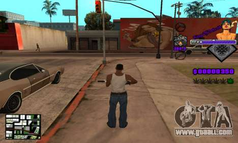C-HUD King Of Detroit for GTA San Andreas fifth screenshot
