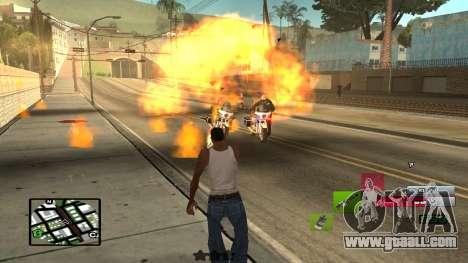 C-HUD by SampHack v.19 for GTA San Andreas third screenshot