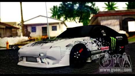 Nissan 180SX Monster Energy for GTA San Andreas