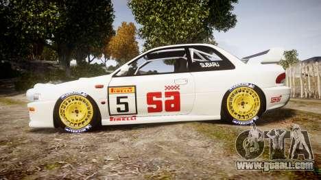 Subaru Impreza WRC 1998 v4.0 SA Competio for GTA 4 left view