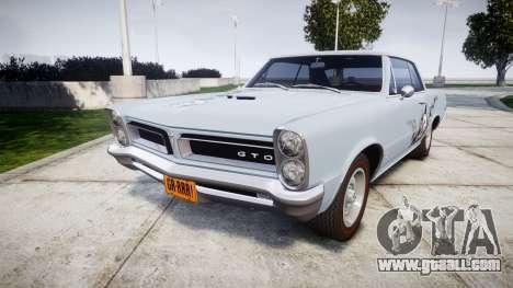 Pontiac GTO 1965 skull for GTA 4