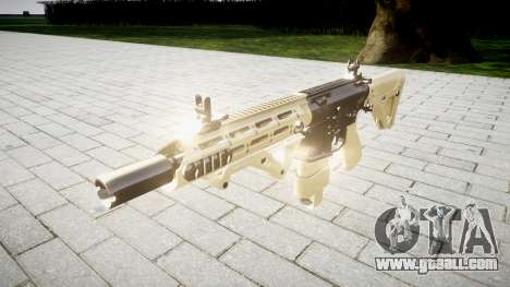 Rifle AR-15 CQB for GTA 4