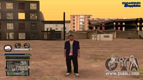 C-HUD Universal for GTA San Andreas
