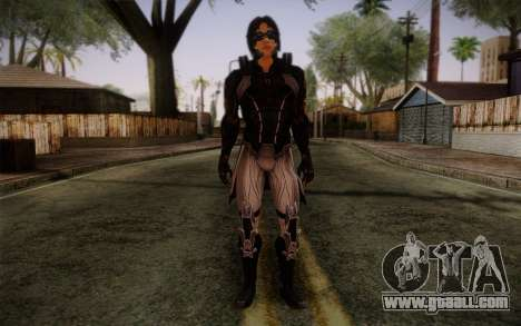 Kei Leng from Mass Effect 3 for GTA San Andreas