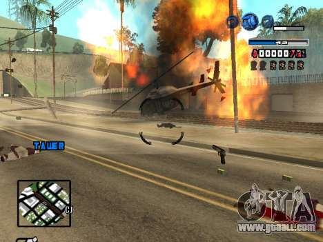C-HUD Fantastik for GTA San Andreas fifth screenshot