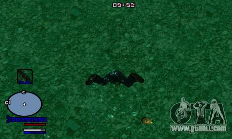 C-HUD Normal for GTA San Andreas second screenshot