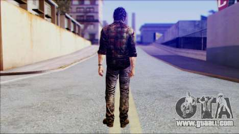 Joel from The Last Of Us for GTA San Andreas second screenshot