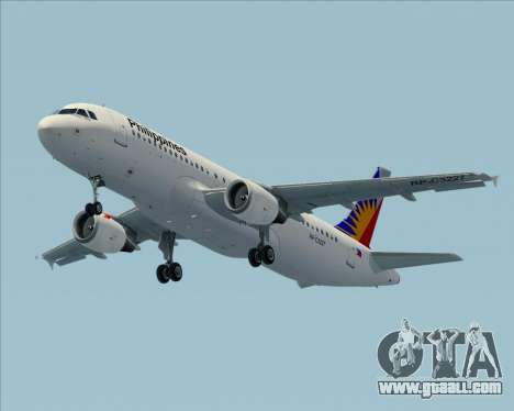 Airbus A320-200 Philippines Airlines for GTA San Andreas