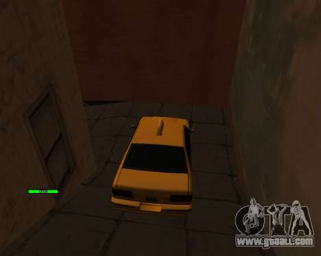 Indicator HP car for GTA San Andreas