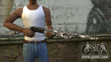 New Shotgun for GTA San Andreas third screenshot