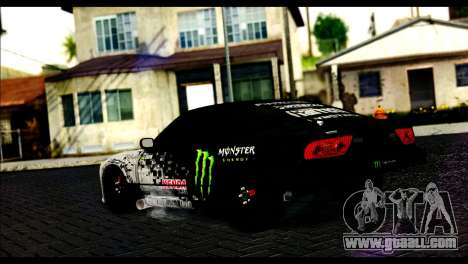 Nissan 180SX Monster Energy for GTA San Andreas left view