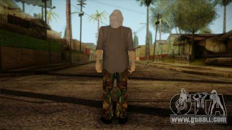 Varg Vikernes Skin for GTA San Andreas second screenshot