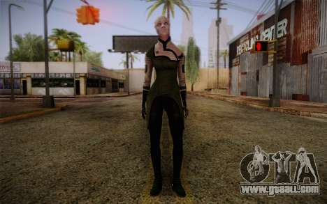 Liara T Soni Scientist Suit from Mass Effect for GTA San Andreas
