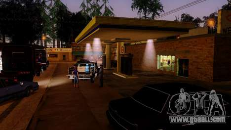 Recovery stations Los Santos for GTA San Andreas fifth screenshot