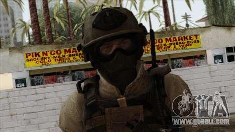 Modern Warfare 2 Skin 15 for GTA San Andreas third screenshot