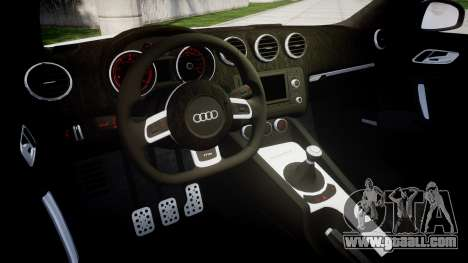 Audi TT RS 2010 for GTA 4 inner view