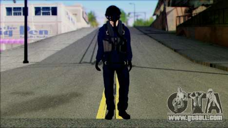 Chinese Jet Pilot from Battlefield 4 for GTA San Andreas