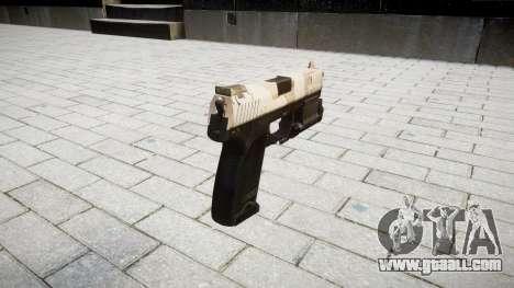 Gun HK USP 45 nevada for GTA 4 second screenshot