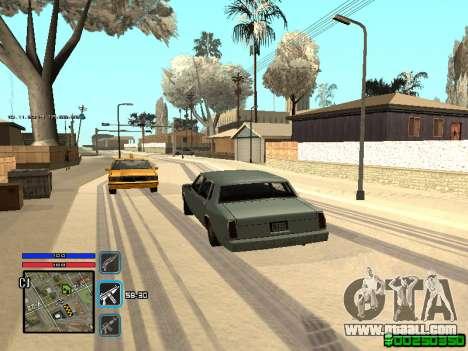 C-HUD Only Ghetto for GTA San Andreas sixth screenshot