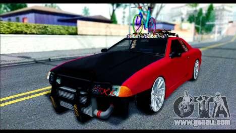 Elegy Slammed for GTA San Andreas left view