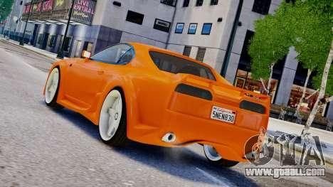 Toyota Supra VeilSide Fortune 03 v1.0 for GTA 4 left view